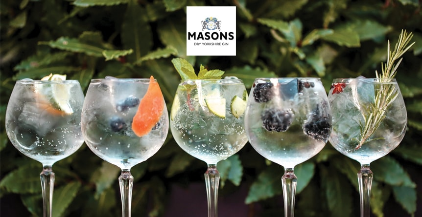 An evening for gin lovers with Masons Gin